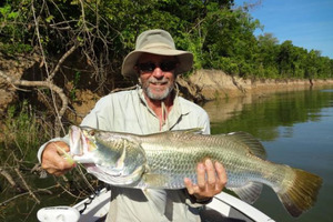 Fatal stabbing victim Robert Wilkinson was a keen fisherman. Photo / supplied