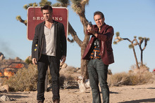 Colin Farrell and Sam Rockwell in Seven Psychopaths. Photo / Supplied