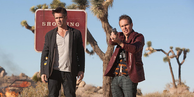 Colin Farrell and Sam Rockwell in Seven Psychopaths. Photo/supplied