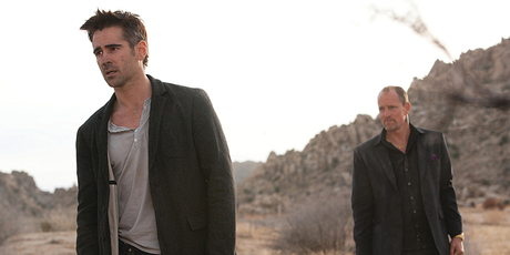Colin Farrell and Woody Harrelson in Seven Psychopaths. Photo/supplied