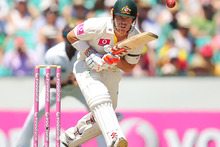 David Warner in action againstg Sri Lanka. Photo / Getty Images 