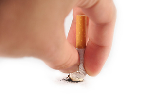 Ridge was asked to put out a cigarette. Photo / Thinkstock