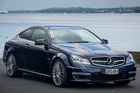 Mercedes AMG C63, photographed in Auckland for Driven Magazine. 20 Febuary 2013 NZ Herald photo by Ted Baghurst.
