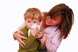 "Sneeze Safe teaches children to ""trap it, bin it and wash it"". Photo / Thinkstock"