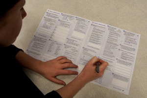A census collector has apologised for handing out a completed census form to another household. Photo / File photo