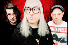 Dinosaur Jr: Still loud, but a little more relaxed these days. Photo / Supplied