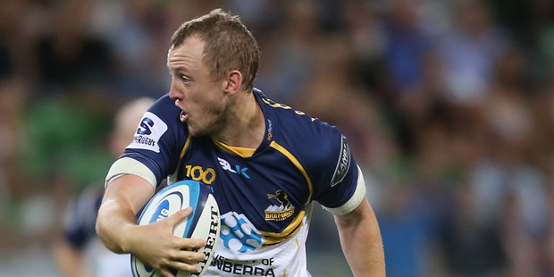 The Brumbies go into the match as solid favourites. Photo / Getty images