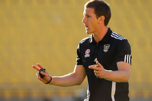 Interim Phoenix coach Chris Greenacre will work towards the future with his player selections during the final few games of the Wellington Phoenix's lacklustre A-League campaign. Photo / Getty Images.