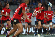 Join us here for live updates of tonight's Super 15 match between the Hurricanes and the Crusaders from Westpac Stadium. Photo / Getty Images.