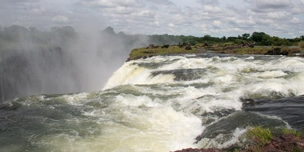 Zambia's mighty Devil's Pool. Photo / Supplied