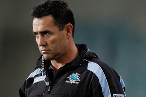 With their season opener set for Sunday against the Gold Coast Titans, coach Shane Flanagan was fired today. Photo / Getty Images.