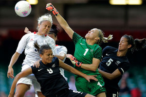 The New Zealand women's football side opened their Cyprus Cup campaign with a 1-0 defeat of Scotland 1-0 in Nicosia overnight (NZT). Photo / Getty Images.