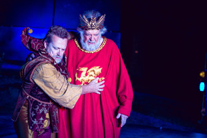 Michael Hurst and Michael Neill in the no-nonsense approach to  King Lear . Photo / Oliver Rosser