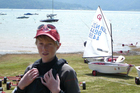 Nick Egnot-Johnson has represented his country at Optimist regattas worldwide. This is his last year in the class. Photo / Supplied