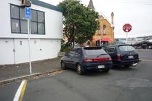 Pollen parking. Photo / Supplied
