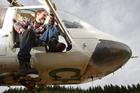Helicopter pilot, Jim Shewan. Photo / Stephen Parker