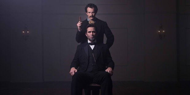 National Geographic's docudrama 'Killing Lincoln'. Photo / Supplied