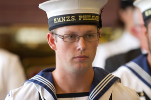 New Zealand Navy Electronic technician David Timothy Simpson. Photo / Brett Phibbs