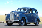 Leather seats, flappy indicators, the boxy, British Ford Prefects of the early 50s were as common on the roads then as Toyotas are now. In the 60s they were cheap first cars for teenage drivers. Photo / Jacqui Madelin