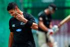New Zealand cricketer Jeetan Patel. Photo / AP