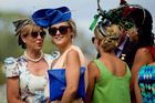 Racing fans dressed to the nines at the Barfoot & Thompson Auckland Cup Day held at the Ellerslie Racing Club yesterday. Photo / Dean Purcell