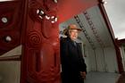 Pita Biddle spoke to the Maori Affairs select committee about his ancestor, Chief Mokomoko.  Photo / Alan Gibson
