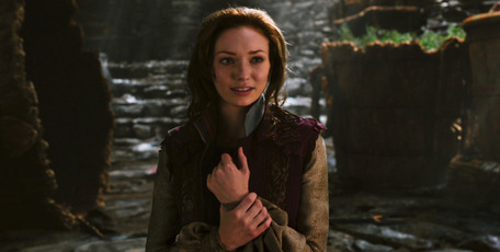 Jack and The Giant Slayer's Princess Isabelle is the first role for actress Elanor Tomlinson, who relished doing many of her own stunts. Photo / Supplied