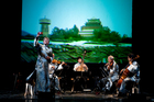 The Kronos Quartet performs tonight with Wu Man. Photo / Jay Blakesberg