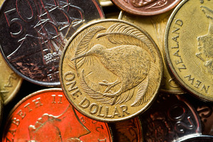 If the New Zealand dollar plunges suddenly then our cost of living will surge. Photo / Bloomberg