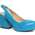 Miss Wilson Penelope turquoise snakeskin heel $229. Photo / Supplied