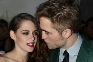 Kristen Stewart is said to be willing to do anything to keep Robert Pattinson. Photo / AP