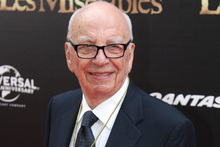 Rupert Murdoch is pursuing his BSkyB interests.Picture / AP
