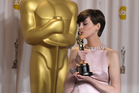 What is it that makes Anne Hathaway so annoying?Photo / AP