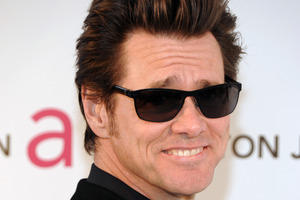 Actor Jim Carrey is on a health kick.Photo / AP