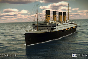 If billions are being spent replicating the original Titanic why not go all the way and stage replica sinkings in ports around the world? Photo / AP