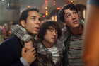Skylar Astin, Justin Chon and Milles Teller in 21 and Over. Photo / Supplied