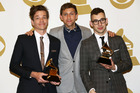 Fun won a Grammy Award in February for Song of the Year. Photo / AP