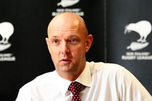 NZRL chairman Scott Carter.  Photo / Martin Sykes