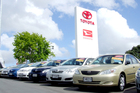 Toyota vehicles claimed the largest share of total registrations last month. Photo / Supplied
