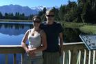 Ben Horner and girlfriend Claire Barham. Photo / Supplied