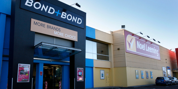 The Warehouse announced today it was fully merging its Bond & Bond chain with Noel Leeming. The Bond & Bond name is being dis-established entirely. Photo / NZ Herald