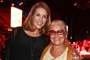 Jennifer Ward-Lealand (left) with artistic director Carla van Zon.  Photo / APN