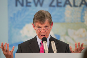 Reserve Bank Governor Graeme Wheeler says he will retain veto rights in a new committee structure of decision-making. Photo / Mark Mitchell