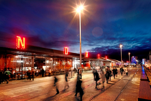 Wynyard Quarter is being developed as an area of waterfront restaurants and open spaces. Photo / Think Photography