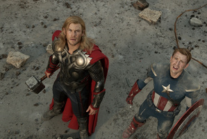 Scene from  The Avengers .  Photo / Supplied