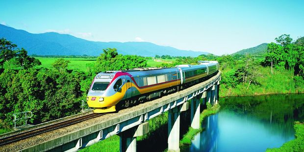 Rail firm Aurizon, with its loyalty bonus scheme, kept a higher percentage of its original shareholders than Contact Energy. Photo / Supplied