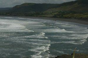 The beach at Muriwai. File photo / NZ Herald