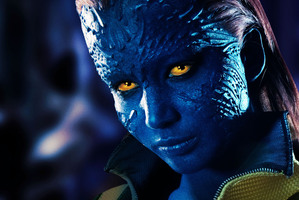 Jennifer Lawrence as Mystique in X-Men: First Class. Photo / Supplied