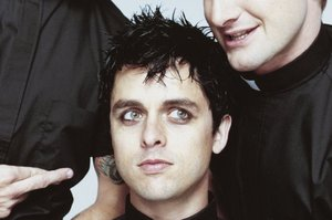 Green Day front man Billy Joe Armstrong.