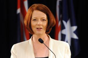 Australian Prime Minister Julia Gillard. Photo / NZPA